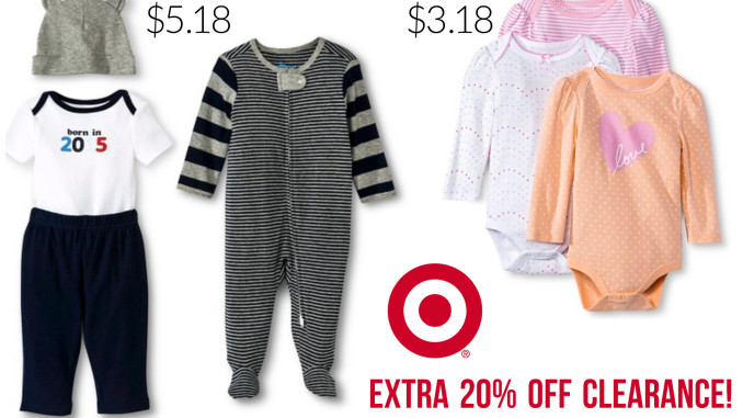 extra 20 off target clearance