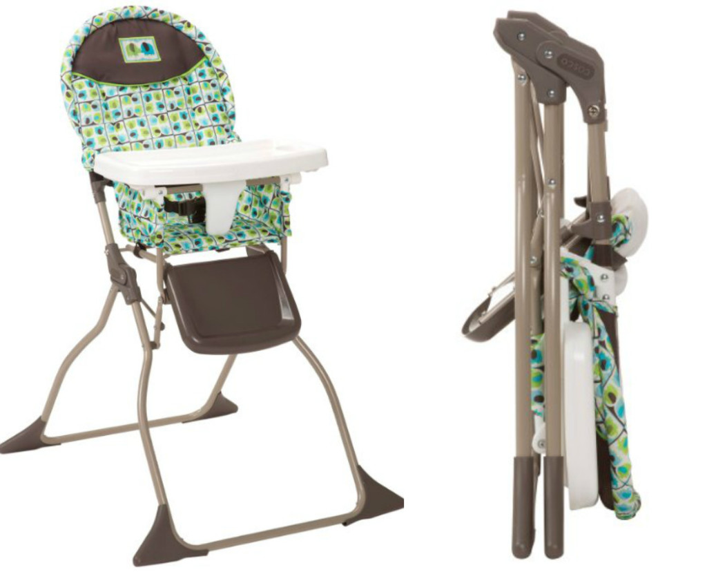 cosco folding high chair