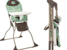 cosco folding high chair
