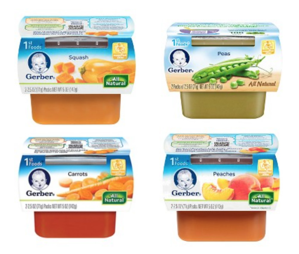 gerber baby food sale at target