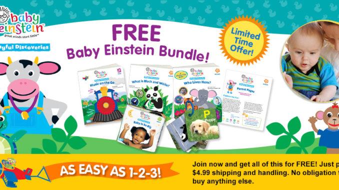 free baby einstein bundle gift