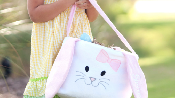 Personalized bunny easter baskets 1699 top baby deals this negle Images
